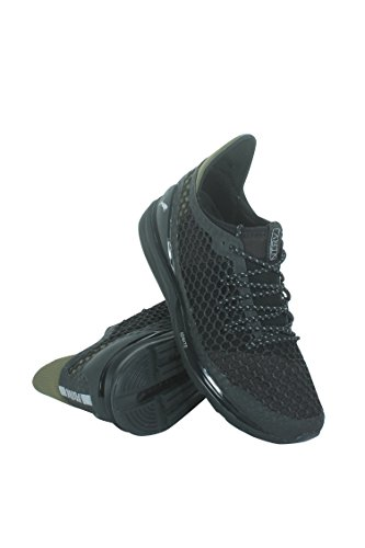 wholesale dealer 0ee03 a83a4 PUMA Men's Ignite Limitless Netfit Staple Black/Olive Night ...