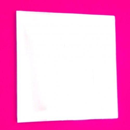 Pack of 10 10cm x 10cm Acrylic Mirror Tiles
