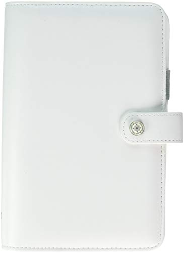 Color Crush Faux Leather Personal Planner Kit 5.5x8-White (Refill Personal Planner 2015)