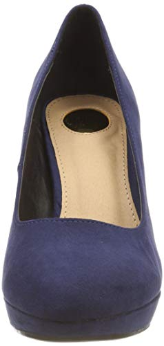 Navy Carnelian A300 00 Pumps Buffalo Blue Closed IMI Sued Women's Bhwmd Toe aRwqvf