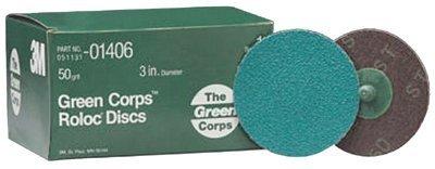 MMM1406 3M 3M Green Corps Roloc Discs, 3