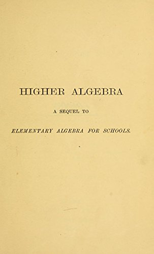Solutions algebra and knight hall pdf higher