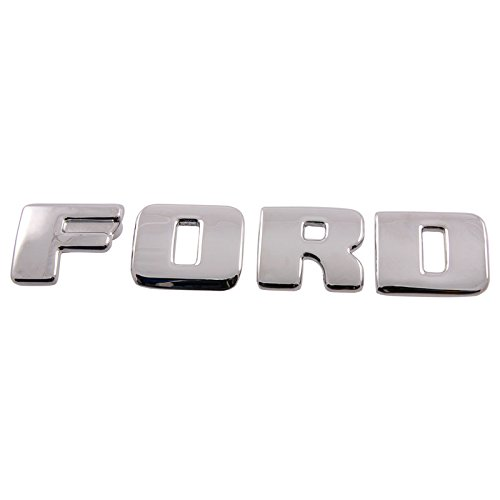 DENNIS CARPENTER FORD RESTORATION PARTS HOOD LETTER SET WITH FASTENERS