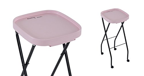 KAYLINE FT59 PINK Fold-A-Way Salon Service Chemical Tray + FREE YS Park Hair Clips ($15 value) (Fold A Way Service Tray compare prices)