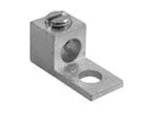 ILSCO TA Dual Rated Mechanical Terminal Lug, 1/0 to 14 AWG Aluminum/Copper Conductor, 1/4 in Stud, 1 Bolt Hole from Ilsco