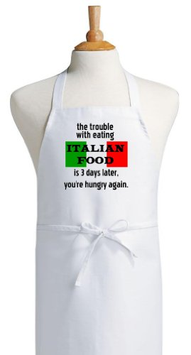 Trouble Italian Funny Cooking Apron product image