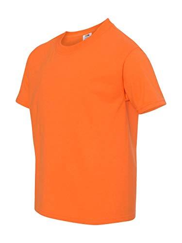 - Fruit of the Loom Boys 5 oz.Heavy Cotton HD T-Shirt (3931B) -Safety ORA -M