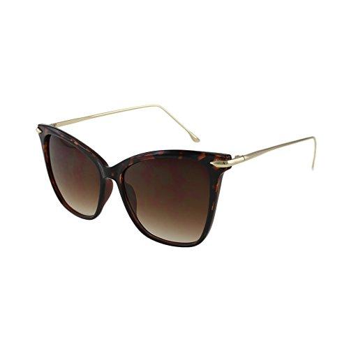 MQ Sunglasses - Milan - Cateye Sunglasses with Microfiber Pouch (Tortoise / - Sunglasses Milan