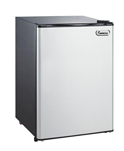 Impecca Compact Refrigerator and Freezer, Single Door Reversible Door Classic Refrigerator 4.4 Cubic Feet by Impecca