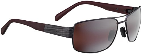Maui Jim Ohia 703 Sunglasses, Dark Gunmetal/rose Lens, - Nose Jim Sunglasses Maui For Pads