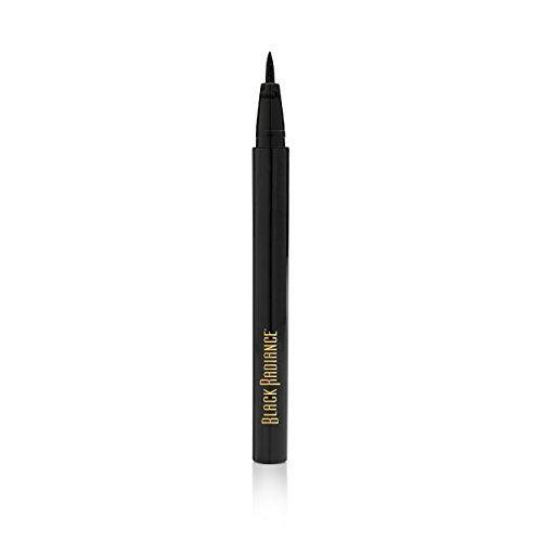 Black Radiance Fine Line Liquid Eyeliner Pen, Fine Black, 0.03 Ounce
