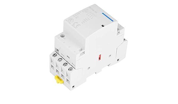 2P 16A 220V//230V 50//60HZ carril DIN contactor de CA de la casa 2NO