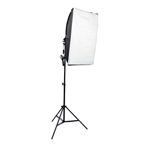 MonkeyJack Photography 50''x70 Softbox Light Lighting Kit Photo Equipment with Stand by MonkeyJack