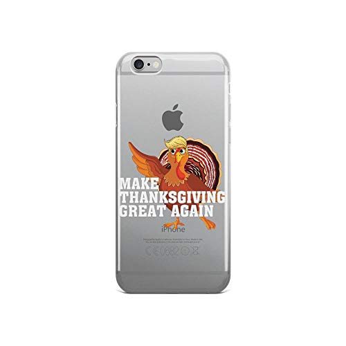 iPhone 6/6s Pure Clear Case Cases Cover Make Thanksgiving Great Again Turkey Fun -