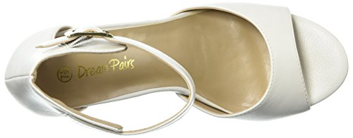 White DREAM HHER Pump PAIRS Polyurethane DREAM Womens PAIRS na1YqqC