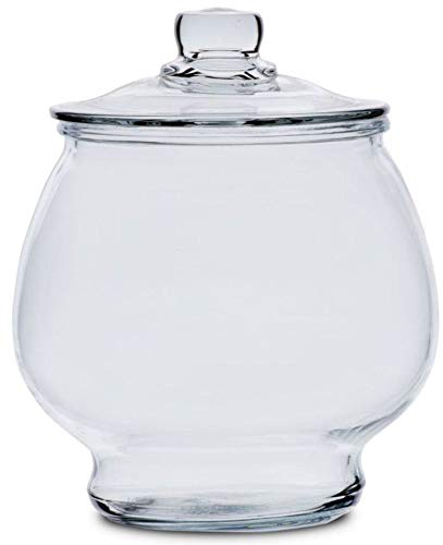 Anchor Hocking 1/2 Gallon Glass Jar with Glass Lid by Anchor Hocking
