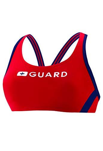 Speedo Guard Sport Bra - Endurance Lite, US Red, Medium
