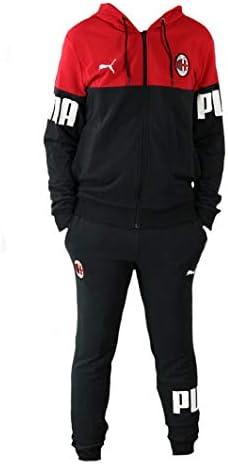 Chándal AC Milan adulto con capucha ropa de fútbol tiempo libre PS ...
