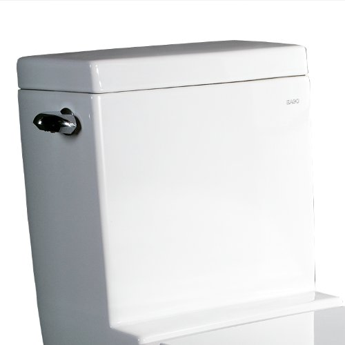 Ariel Platinum TB326M Contemporary European Toilet - White - Single Flush by Ariel Bath