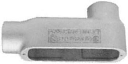 Pack of 10 1//2 inch Rigid Lb Type Body TayMac LB050 Threaded//Set Screw Fittings