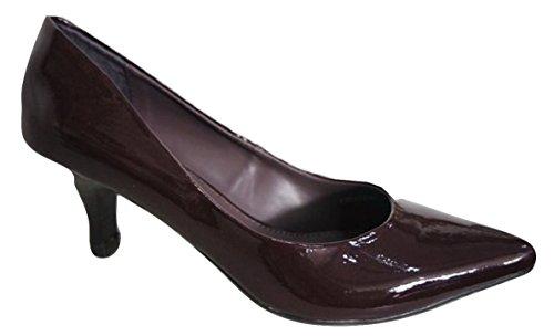 Clarks , Damen Pumps Violett Burgunderrot 4 UK