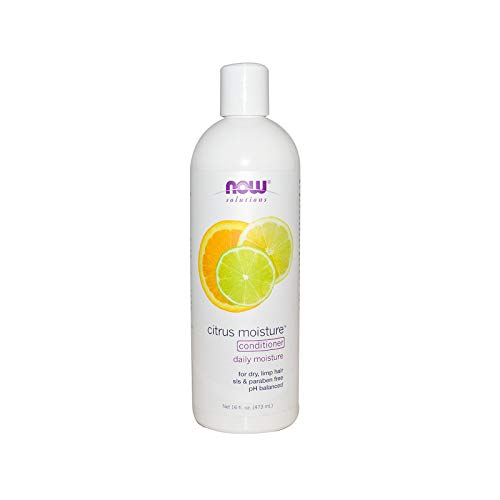 Berry Full Conditioner - NOW Solutions, Citrus Moisture with Jojoba Oil and Green Tea Extract, Daily Conditioner for Dry Limp Hair, pH Balanced, 16-Ounce