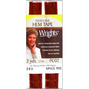 Wrights Flexi-Lace Hem Tape 3/4 Inch 3 ()