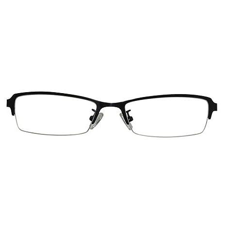 Amazon.com: eyebuyexpress Escudo Negro anteojos de Lectura ...