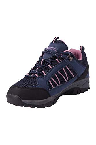 Azul Mountain Suela Alta Mujer Con Malla Tracción Caminar Warehouse Zapatos Impermeables Acampar Transpirables Trekking Marino De Para Senderismo Forro Path rqYO7xr
