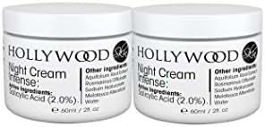 INTENSE Acne Cream - 2% Salicylic Acid!! Night Cream Intense - Overnight acne treatment. 400% STRONGER than regular acne creams. 50ml Bottle (2 Bottles)