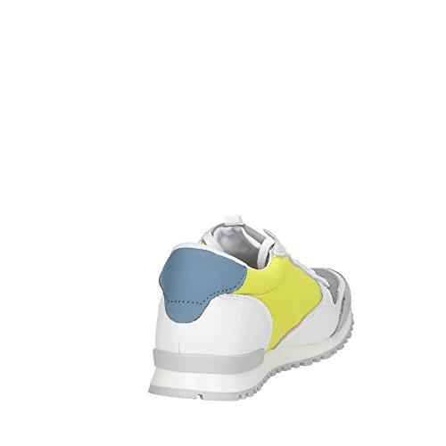 D.a.t.e. Boston 3-63 Niedrige Sneakers Boy Weiss/Grau