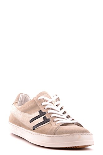 Daniele Alessandrini Uomo Mcbi086060o Sneakers In Suede Beige