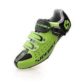 Smartodoors Herren Mountainbike Rennrad Schuhe Professional Racing Cyclin Grün für die Straße