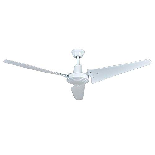 Hampton Bay Industrial 60 in. White Energy Star Ceiling Fan ()