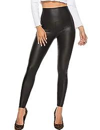 FITTOO Pantalones Deportivos Mujer Yoga Leggings de Alta Cintura elásticos y Transpirables para Running Fitness con Gran Elásticos570