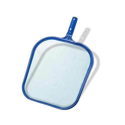 HOMIMP Pool Leaf Skimmer Net Rake,Heavy Duty Frames & Sturdy Mesh Nets Swimming Pool Cleaning Tool for Removing Leaves & Debris