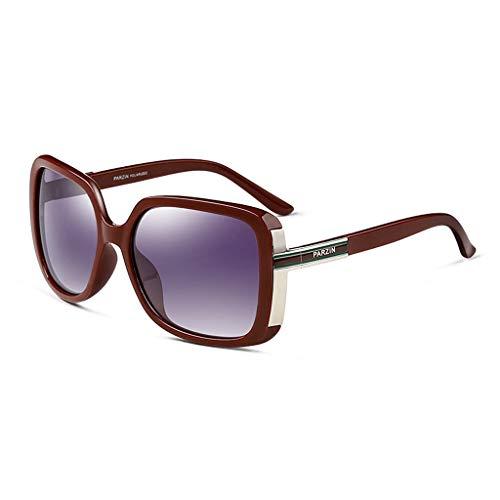 Lunettes Sport Grand Conduite D Vintage Des lunettes soleil Cadre de de Lunettes Soleil Mode Femme polarisées Dames de qx7ZIRw