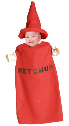 Ketchup Costume Baby (Ketchup Baby Bunting Costume - 3-9 months)