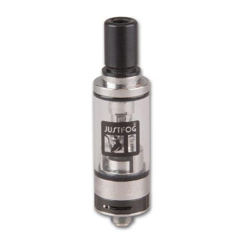 Clearomizer JustFog Q16 BOCC 1,9 ml 1,6 Ohm aus Edelstahl Pyrexglas in silber