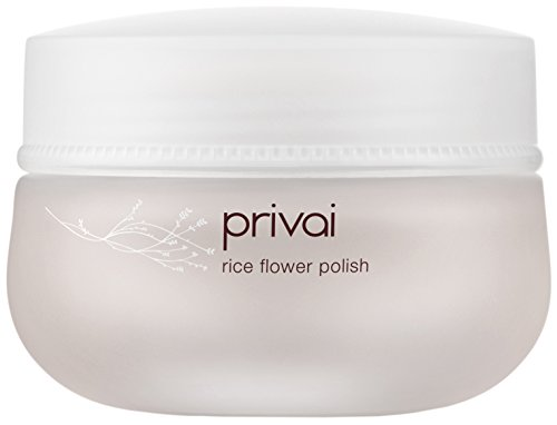 Privai - Rice Flower Polish, Natural, Paraben-Free, Brightening Facial Exfoliator - - Lacquer Flower