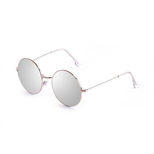 Ocean Sunglasses 10.7 Lunette de Soleil Mixte Adulte, Argent