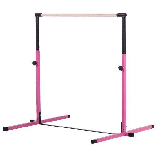 Nimble Sports Pink Adjustable Horizontal Bar – Kids Kip Bar