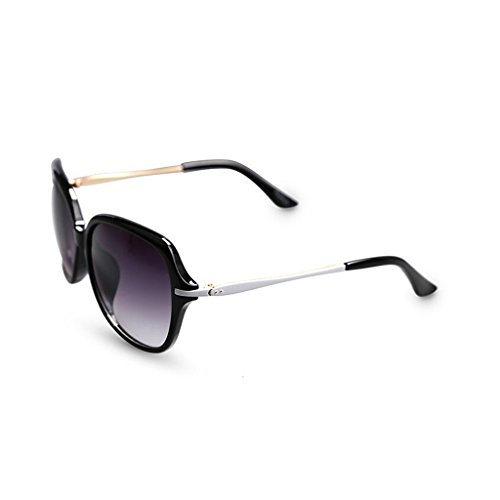 Face 4 de Color 2 Round Box Fashion Elegant Big QZ Gafas Sol UV Anti Legs Slim HOME 7aE6wqBxH