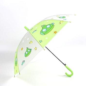 qqyz Paraguas De Los Niños De Dibujos Animados Gato Paraguas ...