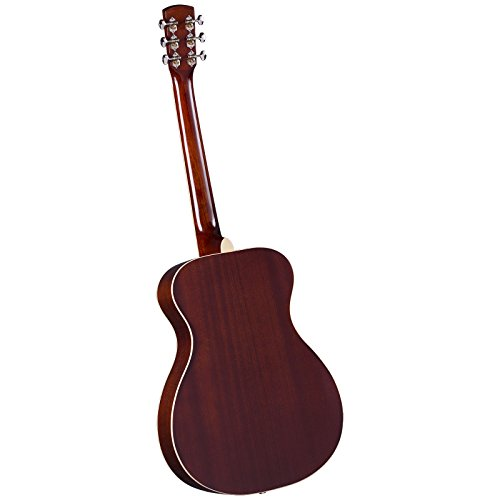 Regal RD-40M Studio Series Roundneck Resophonic Guitar - Natural Mahogany