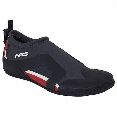 NRS Kinetic Water Shoes-Black/Red-13