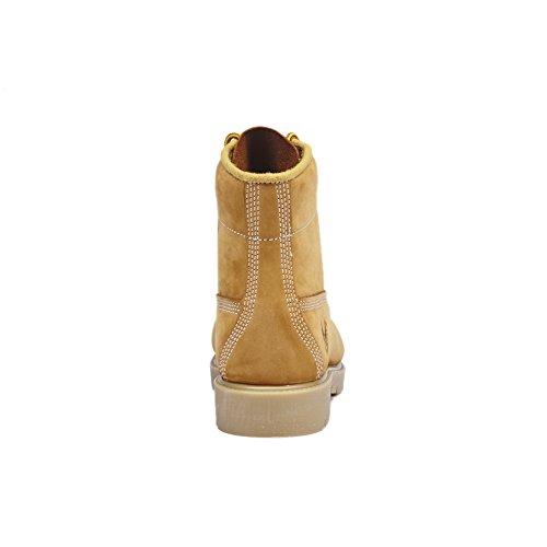 KINGSHOW Mens 1366 Water Resistant Premium Work Boots Wheat8005 SaKsKNFF4c