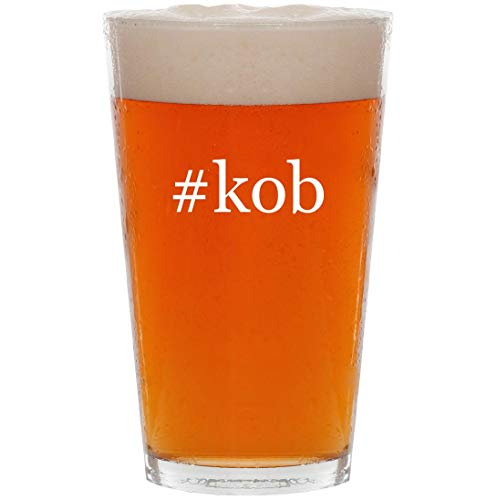 (#kob - 16oz Hashtag All Purpose Pint Beer Glass)