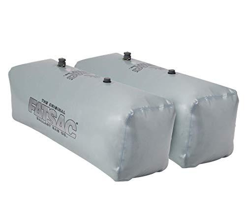 FATSAC V-Drive Fat Sacs - Pair - 400lbs Each - Gray [W701-GRAY]
