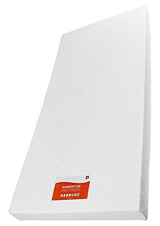 RestRelax Superior Flex colchón, Microfibra, Color Blanco, Microfibra, Blanco, King (150 x 200cm): Amazon.es: Hogar
